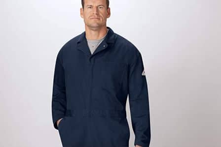 Bulwark Flame-Resistant 9oz Twill Cotton Coverall