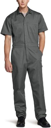 CQR Men's Short Sleeve Coverall
