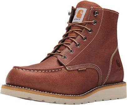 Carhartt Men's 6-Inch Waterproof Soft Toe Work Boot