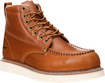 Golden Fox 6-Inch Men's Moc Toe Work Boot