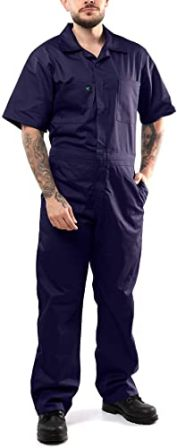 Kolossus Deluxe Short Sleeve Cotton Blend Coverall