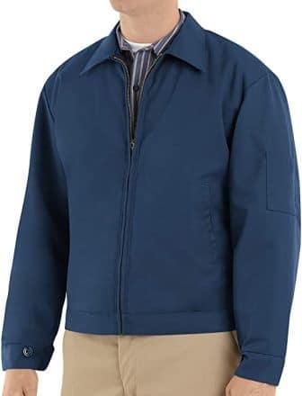 Red Kap Men's Slash Pocket Jacket