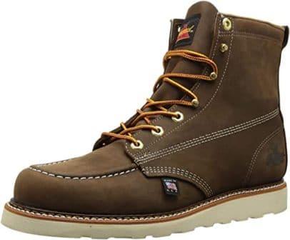 Thorogood Men's American Heritage 6-Inch Moc Toe Boot