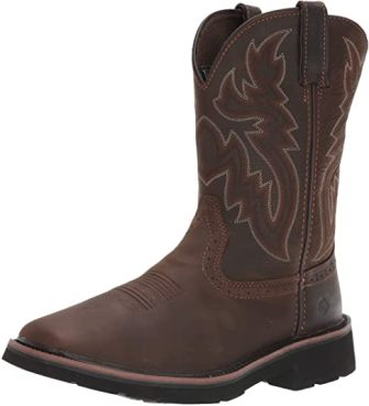 Wolverine Men's Rancher 10-Inch Square Toe Work Boot