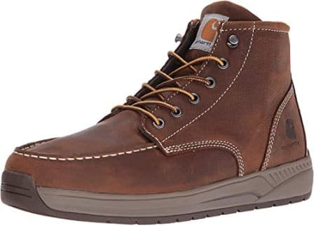 Carhartt Men's CMX4023 Lightweight Wedge Soft Moc Toe Boot