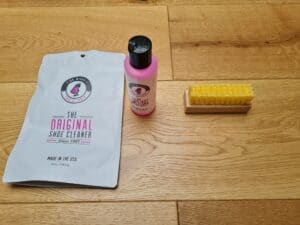 pink miracle shoe cleaner review v2