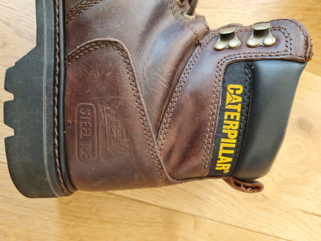 Caterpillar second shift boots