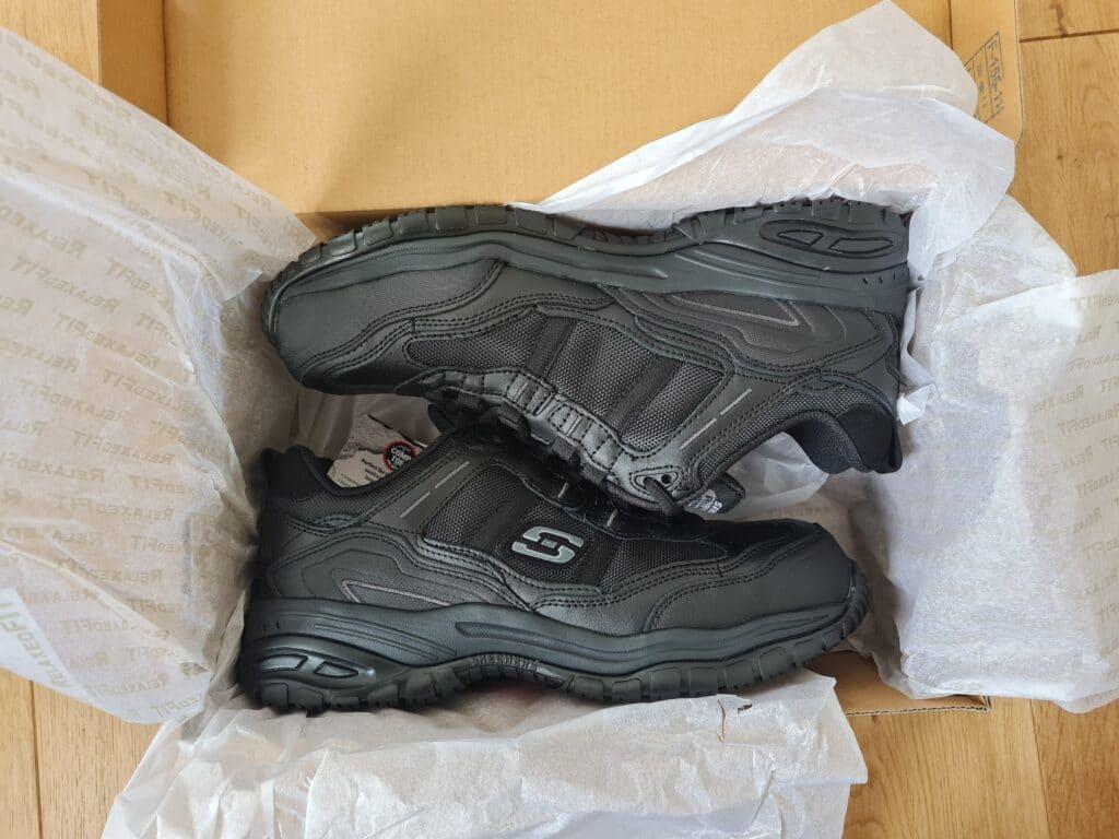 Skechers Soft Stride Grinnell Comp Toe Shoes v11
