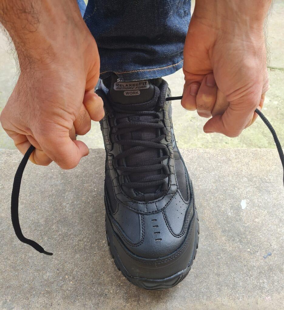 Skechers Soft Stride Grinnell Comp Toe Shoes v8