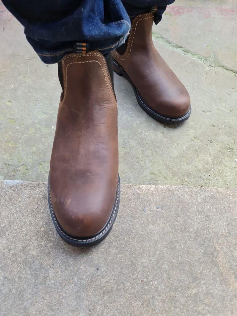 ariat groundbreaker chelsea boots v5