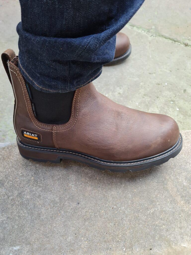 ariat groundbreaker chelsea boots v6