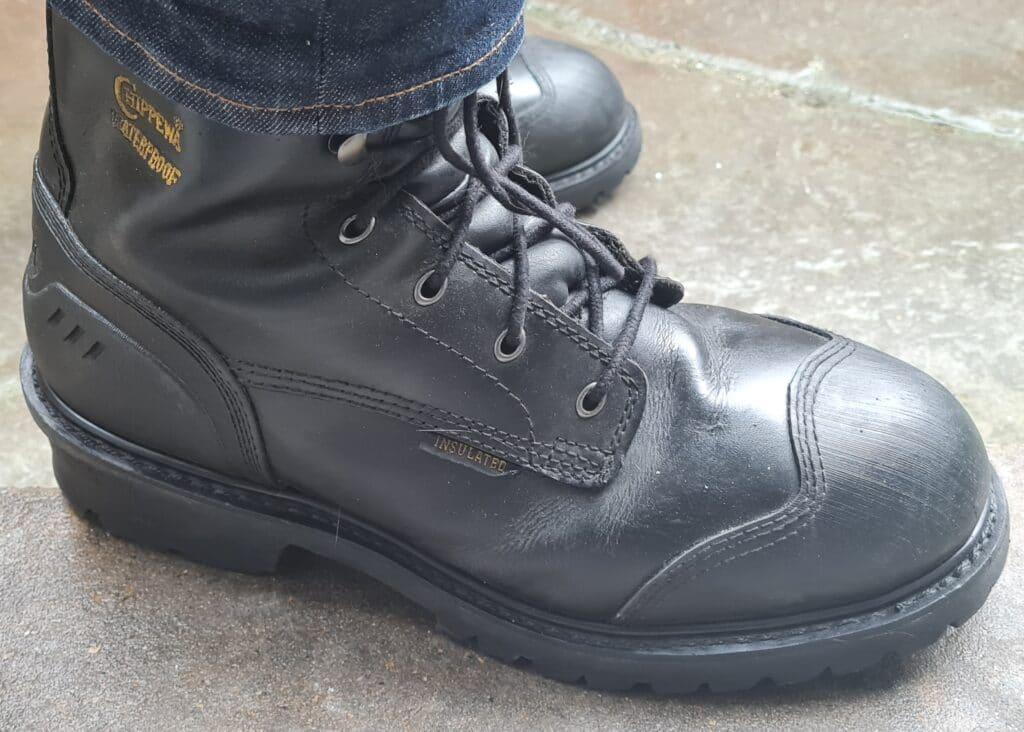 chippewa hammer logger boots v1